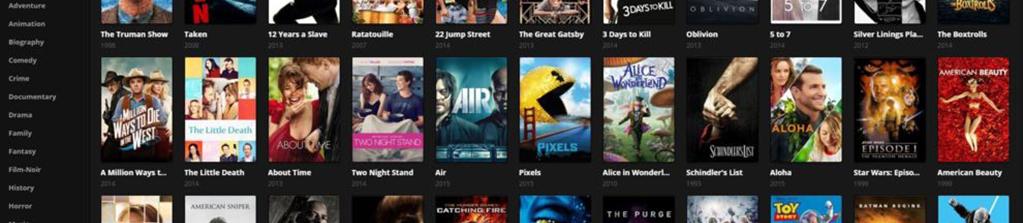 Netflix, a la conquista del imperio pirata