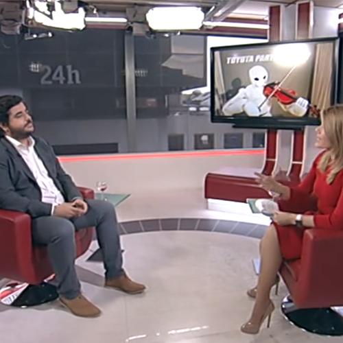 Entrevista en La Tarde 24 horas