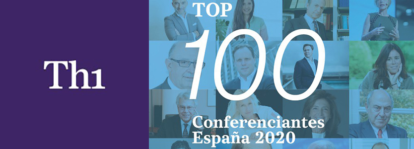 Logo Thinking Heads Top 100 conferenciantes