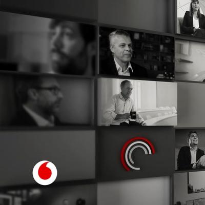En el Observatorio Vodafone de la Empresa explicando las cinco ventajas económicas y sociales que traerá la robotización